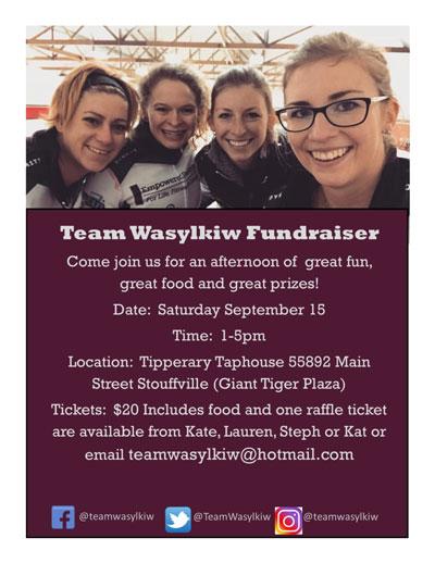 Teamwasylkie fundraiser